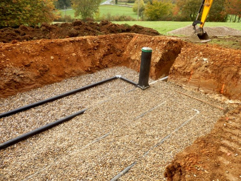 Home inspection Septic System Test